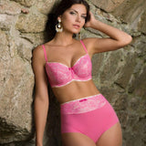 Lace Half Padded Full Figure Bra Vova Delicatesse