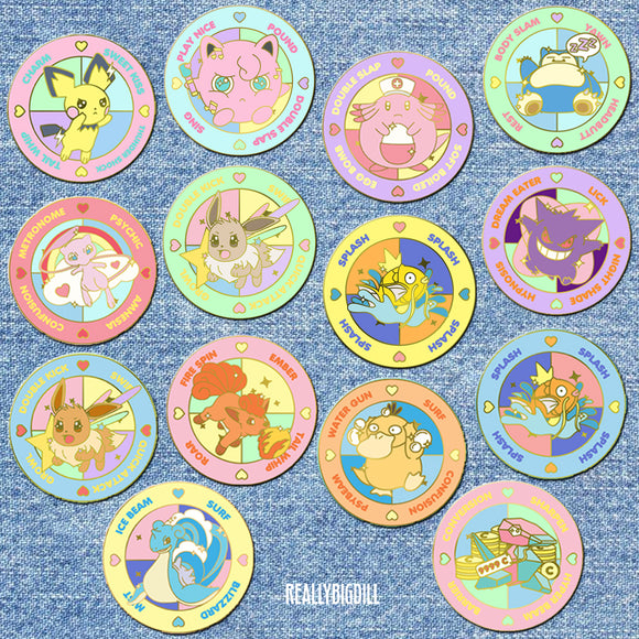Pokemon Battle Spinners