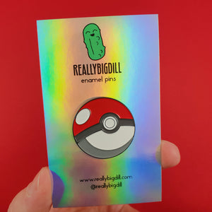 Pokeball - Pokemon Collectible Enamel Pin