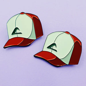 Ash Ketchum's Hat - Pokemon Collectible Enamel Pin