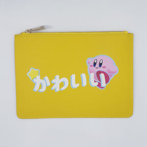 Kirby Kawaii Leather Clutch