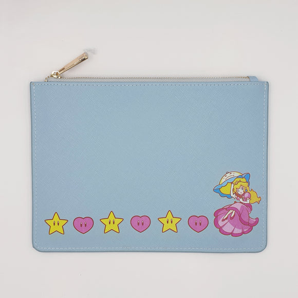 Princess Peach Leather Clutch