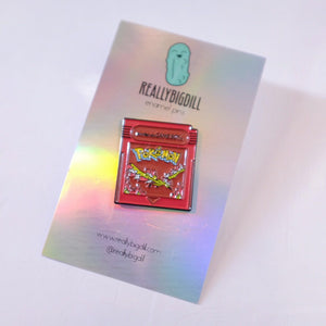 Pokemon Fantasy Cartridges - Moltres Blue Edition (Team Valor)