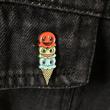 Pokemon Starter Cone Soft Enamel Pin