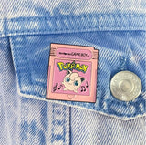 Pokemon Fantasy Cartridges - Jigglypuff Pink Edition