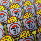 Rehydrated Pizza Hut Pizza Back To The Future Hard Enamel Pin