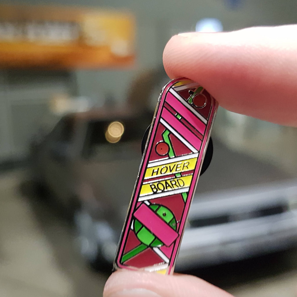 Hoverboard Back To The Future Enamel Pin