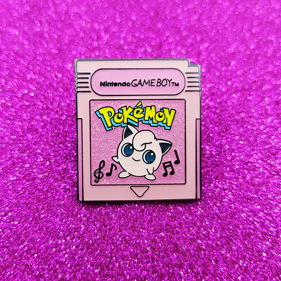 PRE-ORDER Pokemon Fantasy Cartridge - Jigglypuff Glitter Edition