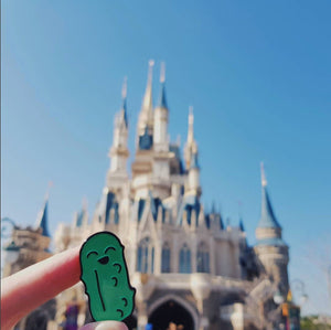 Dickles the Dill Pickle - Reallybigdill's Mascot Enamel Pin