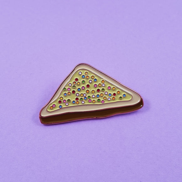 Fairy Bread Soft Enamel Pin