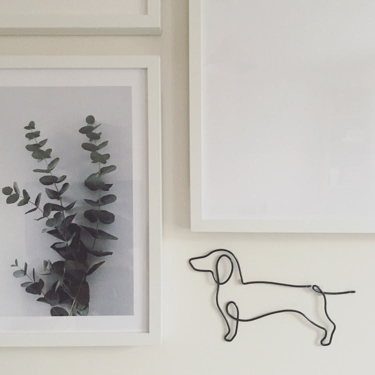 Dachsund Wire Wall Art
