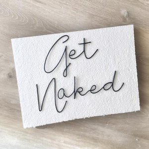 Get Naked - Wall art - Bathroom