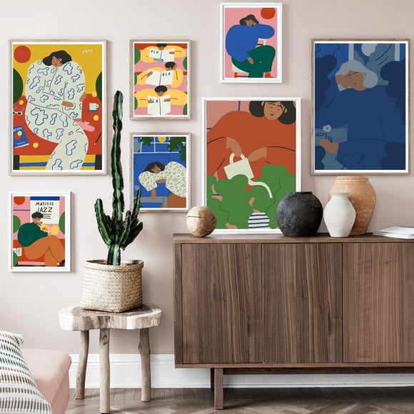 Matisse Human Wall Art Collection
