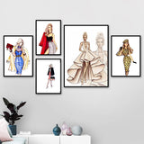 Paris Fashion Wall Art Collection