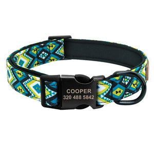 Cooper Personalized Dog Collar