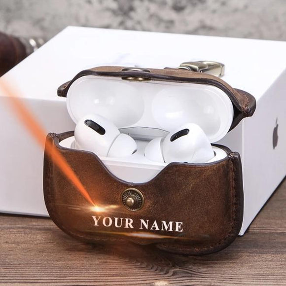 Customized Genuine Leather AirPodsPro