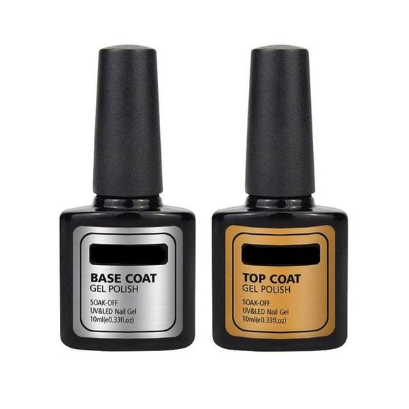Long lasting base and top coat