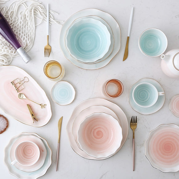 Andree Pastel Dinnerware Collection