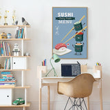 Choose Your Sushi Wall Art Collection