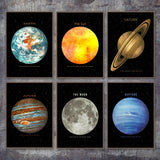 Planets Wall Art Collection