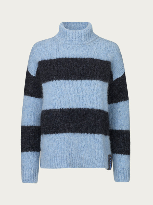 Comfy Copenhagen ApS Mellow Days Knit Navy / Dusty Blue