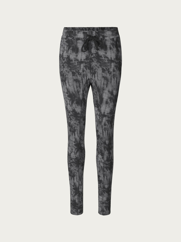 Comfy Copenhagen ApS Beds Are Burning Pants Black Grey Tie Dye