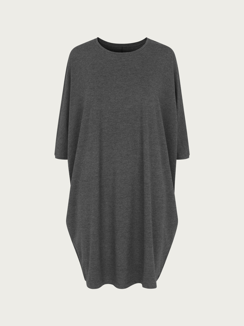 Comfy Copenhagen ApS Higher Love Dress Dark Grey Melange