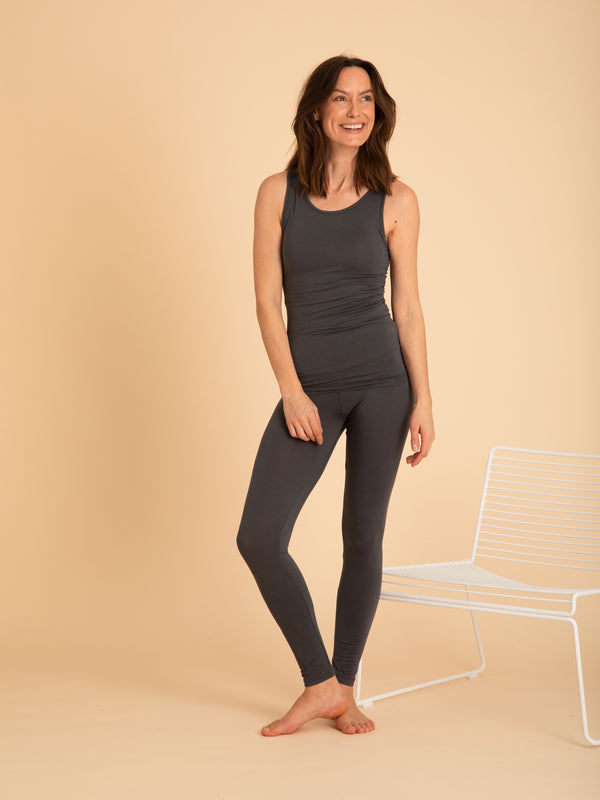 Comfy Copenhagen ApS Pleasing Leggings Asphalt
