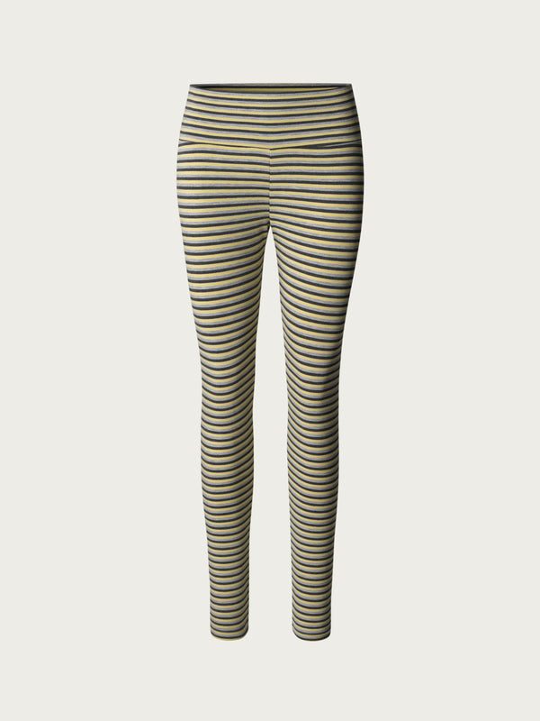 Comfy Copenhagen ApS Pleasing Leggings Honey Stripe