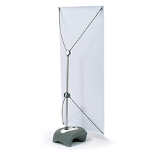 Load image into Gallery viewer, 60cm Outdoor Water Base X-Stand Banner