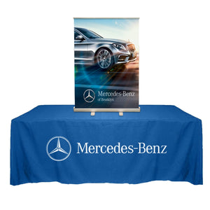 "33.5"" x 48"" Tabletop Roll Up Banner"