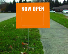 "Load image into Gallery viewer, Coroplast Lawn Sign - 24"" x 18"""