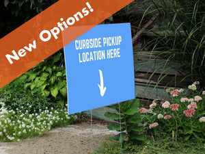 "Coroplast Lawn Sign - 24"" x 18"""