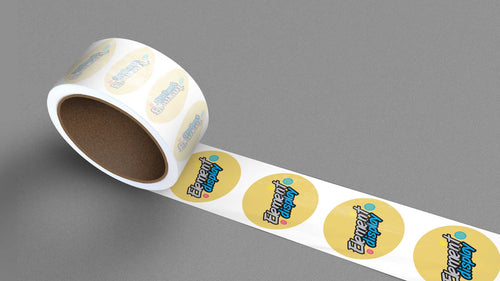 Paper Roll Labels
