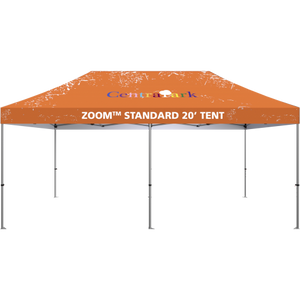 20' Fabric Popup Tent