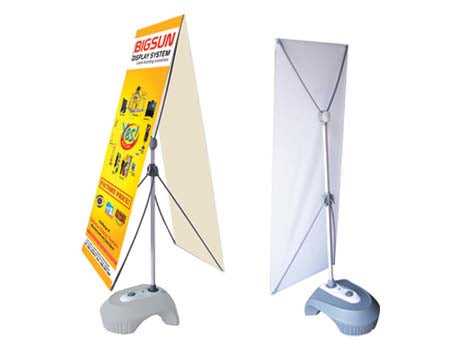 60cm Outdoor Water Base X-Stand Banner