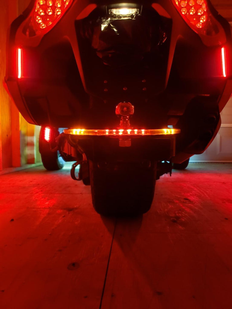 LED Halo Hitch Cover for Big Bike Hitch & Can-Am Spyder Accessories