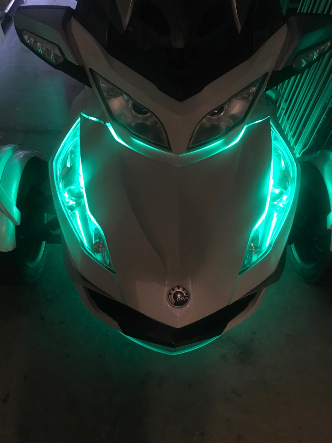 Under Glow For Spyder RT 2010-2019