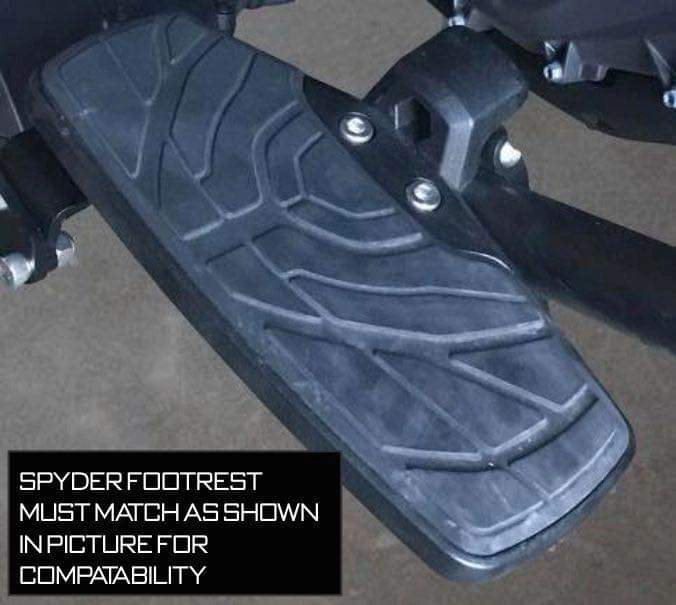Can-Am Spyder F3 Foot Rests - Honeycomb