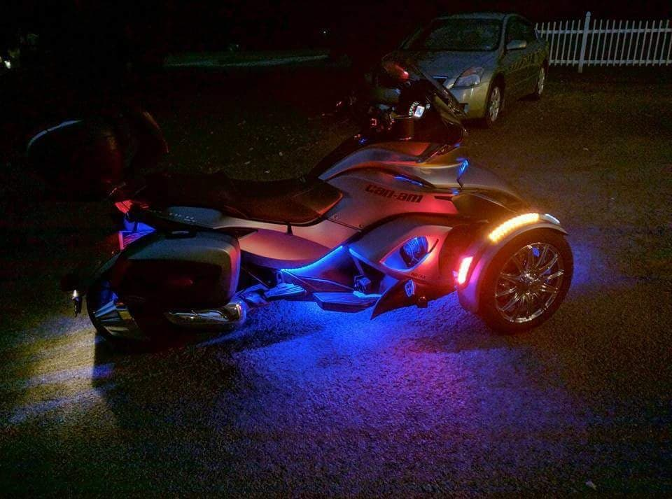 Under Glow For Spyder ST/RSS