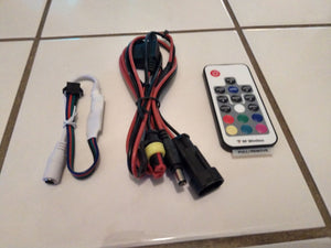 Remote, Module and Power Harness