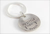 Personalized Name Keychain for Dad | My Little Man Key Chain