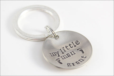 Mommy's Bragging Keychain | Sterling Silver Accessories for Mom | Child's Name