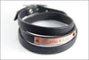 Custom Pet Name Leather Wrap Bracelet | Custom Pet Jewelry