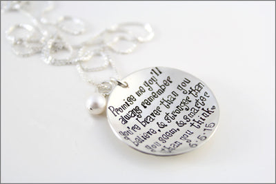 Winnie the Pooh Necklace with Custom Date or Initials
