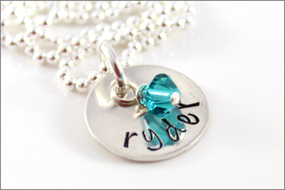 Birthstone Necklace Gift Idea Jewelry Gift Gift for Mom Birthstone Jewelry