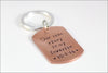 Custom Wedding Date Keychain | Our Love Story is My Favorite