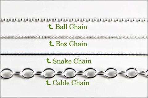 Women's Sterling Silver Box Chain | New Chain or Chain Replacement