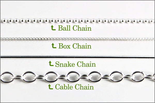 Women's 1.2mm Sterling Silver Ball Chain | New Chain or Chain Replacement
