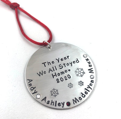Christmas Ornament | The Year We All Stayed Home